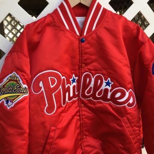 1993 Philadelphia Phillies World Series Jacket