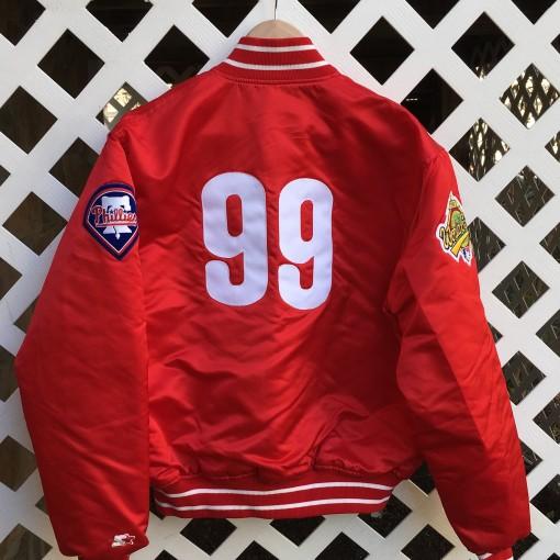 1993 Mitch Williams Philadelphia Phillies starter custom jacket