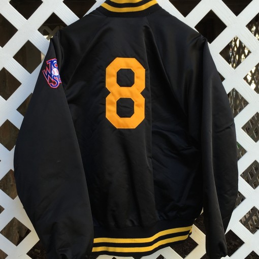 Willie Stargell Pittsburgh Pirates 76th worth series custom starter satin jacket