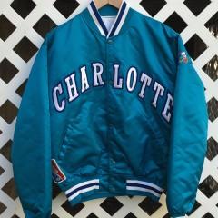 Charlotte Hornets Vintage Starter Satin Jacket