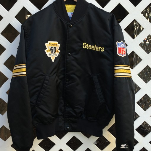 Rod Woodson Pittsburgh Steelers Custom 60th Anniversary Jacket