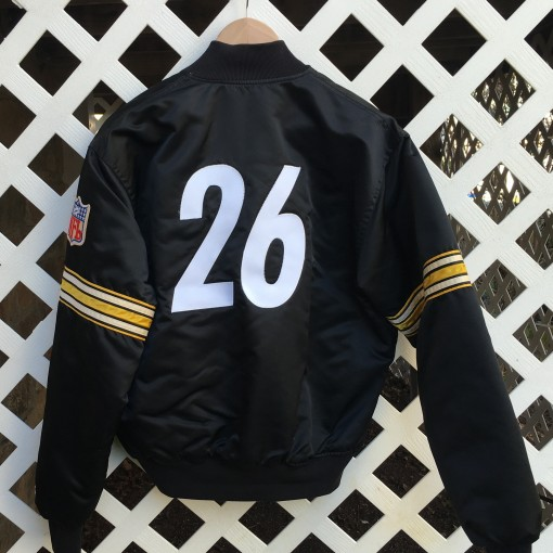 custom Rod Woodson Steelers satin jacket
