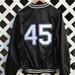 1994 Michael Jordan Chicago white sox custom chalkline jacket