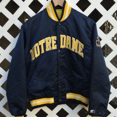 Notre Dame Fighting Irish Starter Satin Jacket