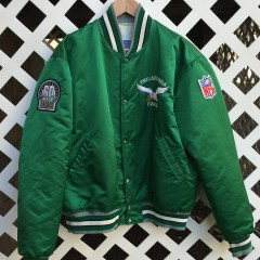 Vintage Philadelphia Eagles Starter satin custom jacket by Rare Vntg