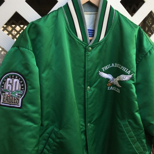60th Anniversary Philadelphia Eagles starter satin jacket