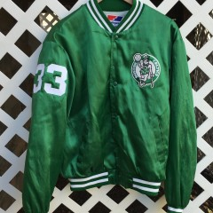 Custom Boston Celtics satin jacket