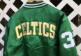 Celtics Larry Bird Custom Satin jacket by rare vntg