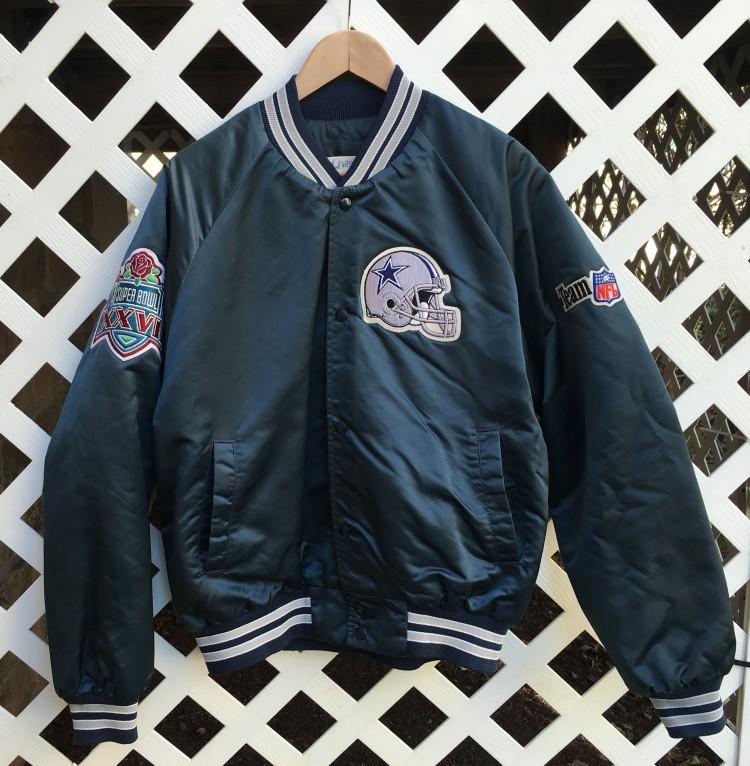 new arrival 8c623 7232b Dallas Cowboys Custom Emmitt Smith Super Bowl jacket