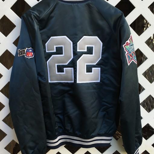 Emmitt Smith Custom Dallas Cowboys satin jacket