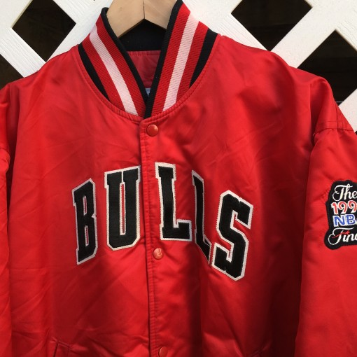 1991 NBA Finals Michael Jordan custom starter satin jacket