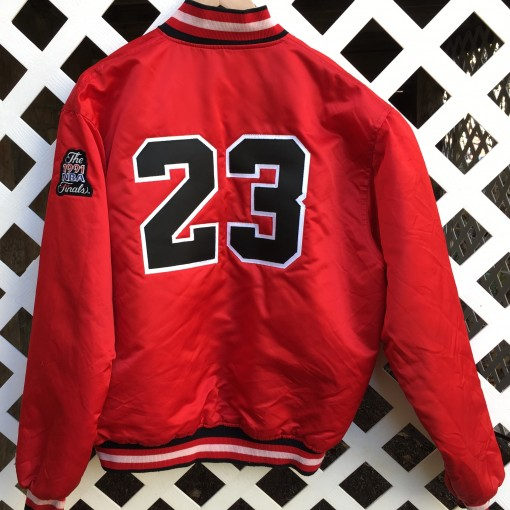 #23 Michael Jordan Custom Starter satin jacket
