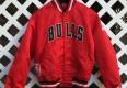 1991 nba finals chicago bulls satin starter jacket