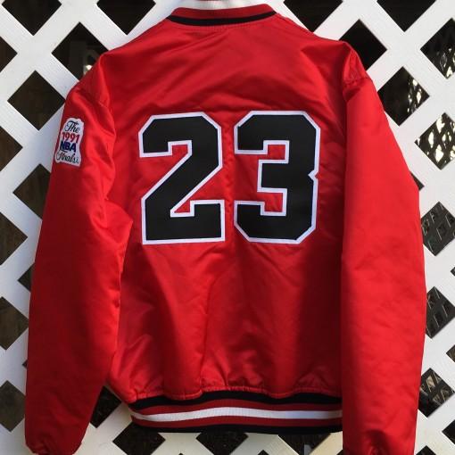 Micheal Jordan Chicago bulls starter custom satin jacket