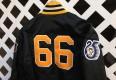 Pittsburgh Penguins 25th anniversary custom starter satin jacket