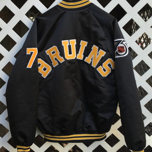 Boston Bruins custom Satin NHL jacket
