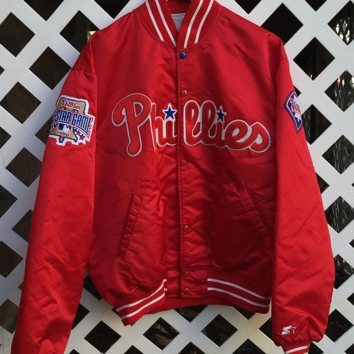Philadelphia Phillies custom starter satin jacket