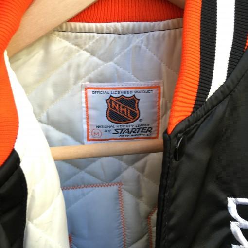 Size Medium vintage Flyers Satin jacket