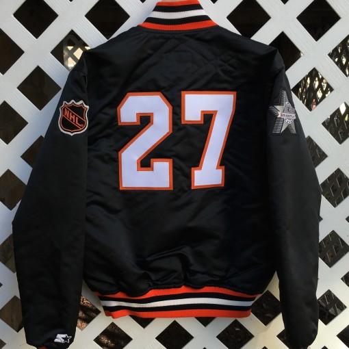 Philadelphia Flyers Custom Hextall Starter Satin jacket