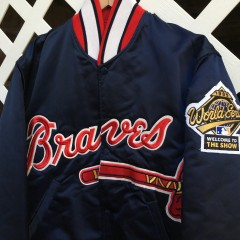 1995 World Series Atlanta Braves Satin Jacket