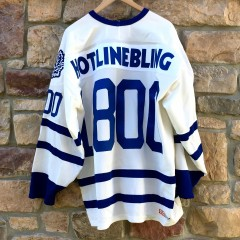 Hotline bling toronto maple leafs drake ovo jersey