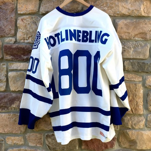 239424362b1 Toronto Maple Leafs Hotline Bling Drake CCM NHL Jersey Size XXL ...