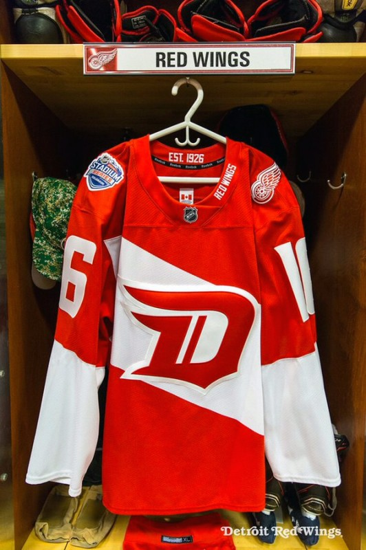 2016 Red Wings New Out Door Game Uniform