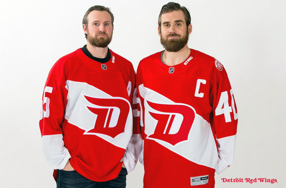 2016 Detroit Red Wings Stadium Series Jersey