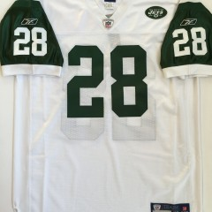 Authentic Curtis Martin white jersey