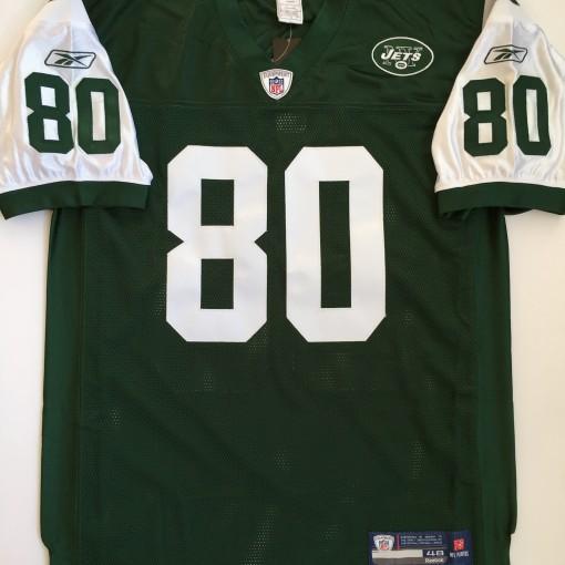 2005 Wayne Chrebet New York Jets Green Authentic Reebok