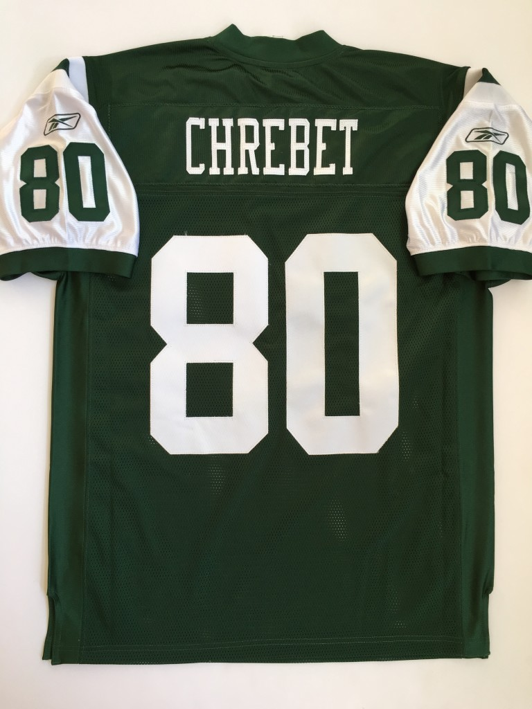 483ec9e1bd8 2005 Wayne Chrebet New York Jets Green Authentic Reebok NFL Jersey ...