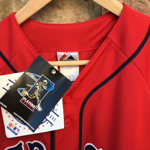 DS vintage Red Sox Alternate jersey