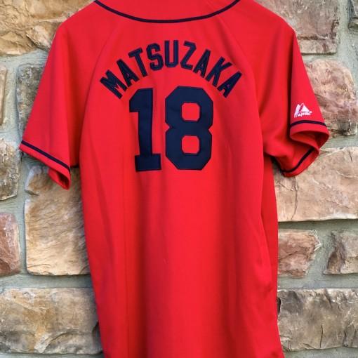 Vintage Daisuke Matsuzaka Dice K Boston Red Sox jersey youth XL