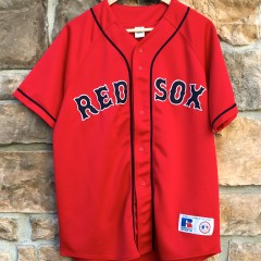 Red Sox Russell Red Alternate MLB Jersey