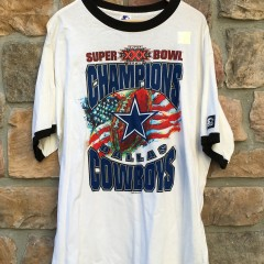 Vintage Super Bowl XXX Dallas Cowboys Starter Super Bowl Champions Shirt