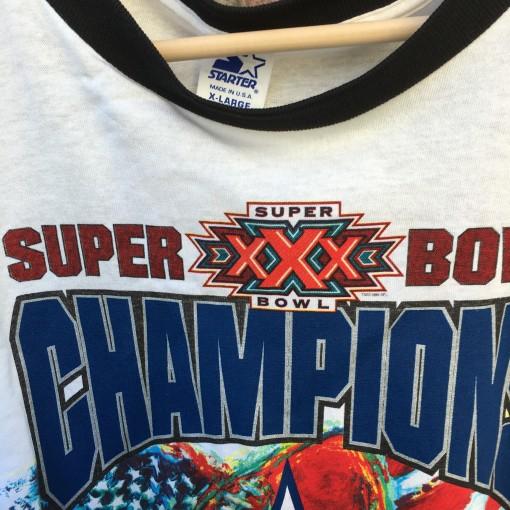 Super Bowl XXX Champions Dallas Cowboys NFL T shirt