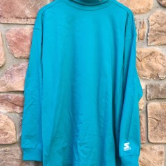 Vintage San Jose Sharks Starter NHL Turtleneck size XL