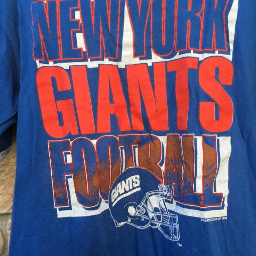 Throwback NY Giants Starter T Shirt
