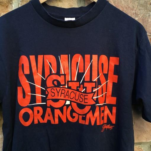 Vintage Syracuse Orangemen NCAA T shirt