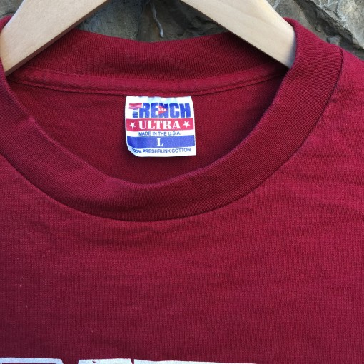 size large trench vintage NFL T Shirt