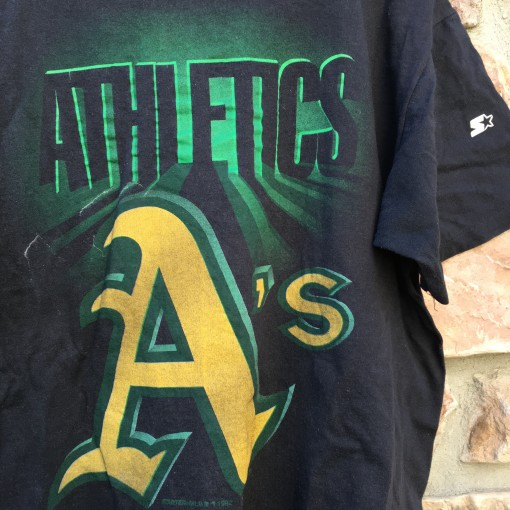 Vintage Oakland Athletics Starter MLB T Shirt