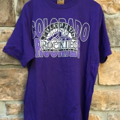 vintage Colorado Rockies Nutmeg MLB T shirt
