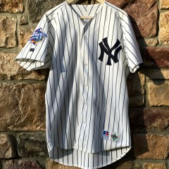 vintage derek jeter 1998 world series new york yankees diamond collection jersey