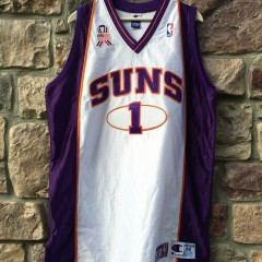 Authentic Penny Hardaway Phoenix Suns champion nba jersey