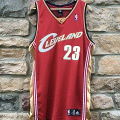 Cleveland Cavaliers Authentic 2008 Lebron James Adidas jersey size 44