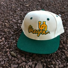 Vintage University Of Oregon Ducks NCAA Snapback hat