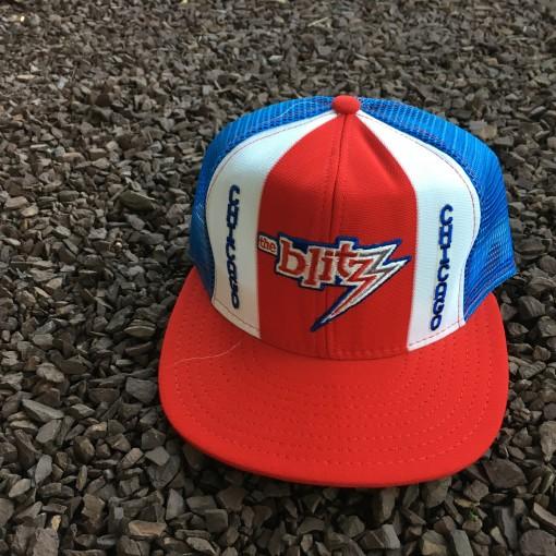 vintage Chicago Blitz USFL Snapback hat