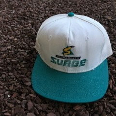 Vintage Sacramento Surge WLAF Snapback hat