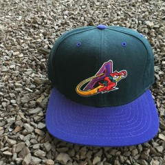 Vintage Akron Aeros Eastern League New Era snapback hat