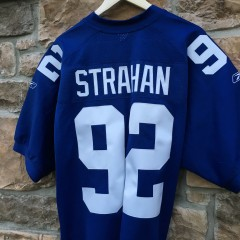 Authentic Strahan Giants jersey